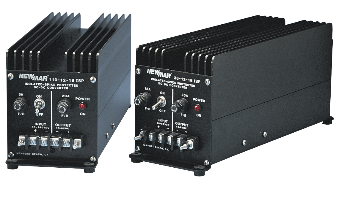 Marine Dc Converters 12v 24v 36v And 48v 3 50 Amps To Converter Circuit Diagram Isolated Series