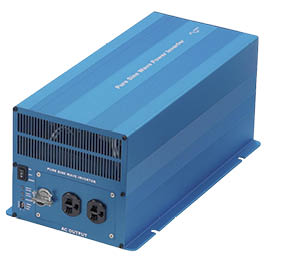 Newmar's PS Series DC-AC Inverter for marine applications, 12V and 24V, 1000 - 2000 Watts
