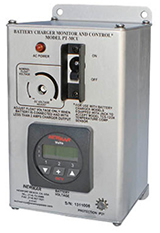 Newmar's Phase Three Charger Monitor/Control Unit, model PT-MCU, for marine applications