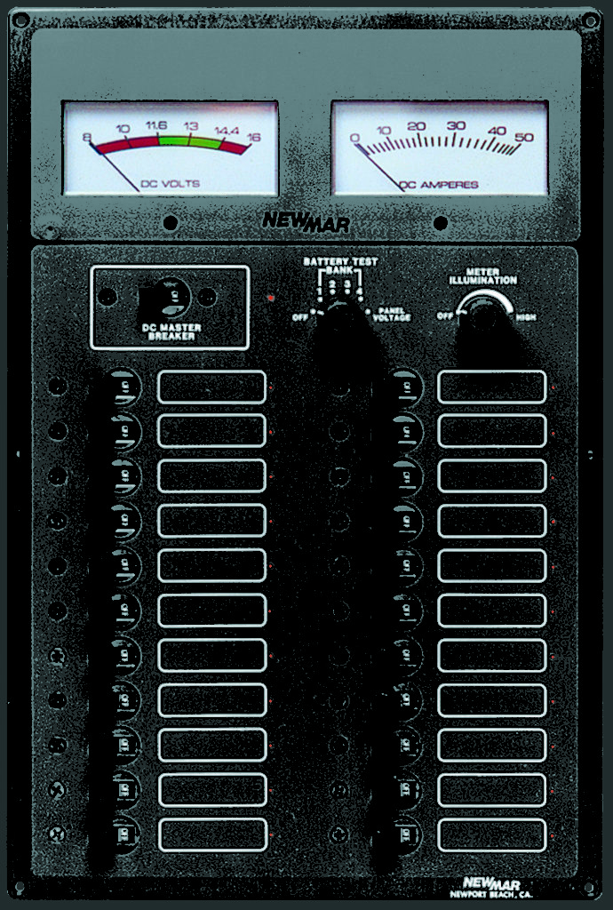 Marine Electrical Control Panels Dc And Ac Dc Marine