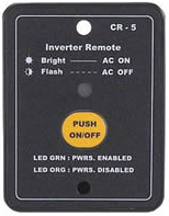 Newmar DC Power Onboard PS Inverter Remote Panel