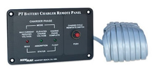 Newmar's Phase Three Series Battery Charger Remote Panel, model RP