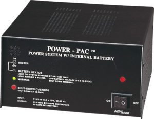 Newmar DC Power Onboard Marine Power Supply with Battery Back-up, Power-Pac Series