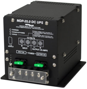 Newmar DC Power Onboard, marine DC UPS, 12V DC, 25 Amps, MDP-25.0