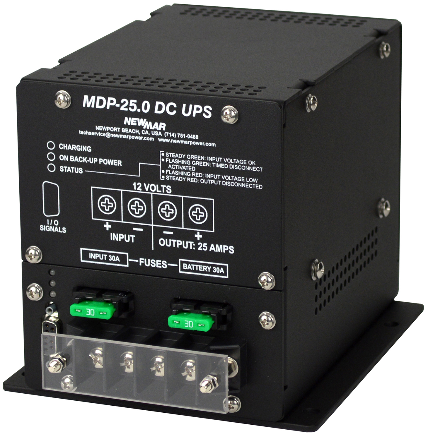 Marine dc ups and control v low voltage
