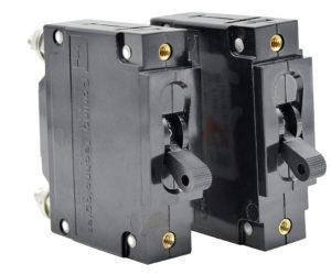 C frame circuit breakers Newmar DC Power